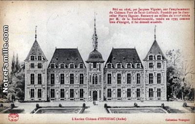 Ancien château d'Estissac