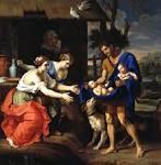 Le berger Faustulus amenant Romulus et Remus a sa femme, 1654, Dallas Museum of Art