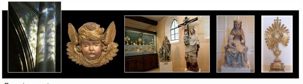 Musée du trésor des églises du parc de la forêt d'orient à Brienne
