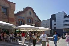 "Cultural hotspot ""Centralstation"" at the ""Carree"""