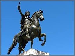 Statue de Louis XIV à Montpelier