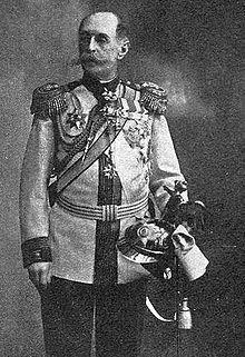 Baron russe Freedericks