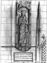 Statue de Jeanne de Navarre au Collège de France
