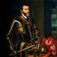 Charles Quint peint par Titien