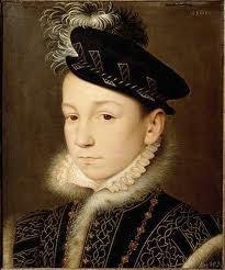 Charles IX enfant