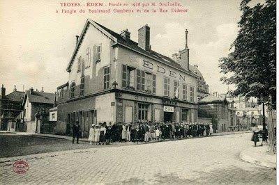 Eden avant Conservatoire de Troyes