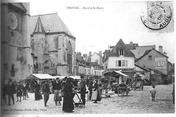 Marché de Troyes