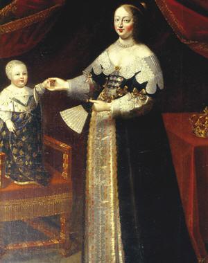 Reine Anne d'Autriche
