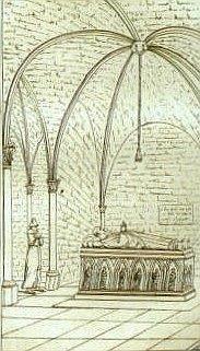 Ancien tombeau d'Abélard
