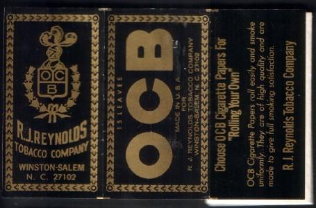 Papier à cigarettes O.C.B.