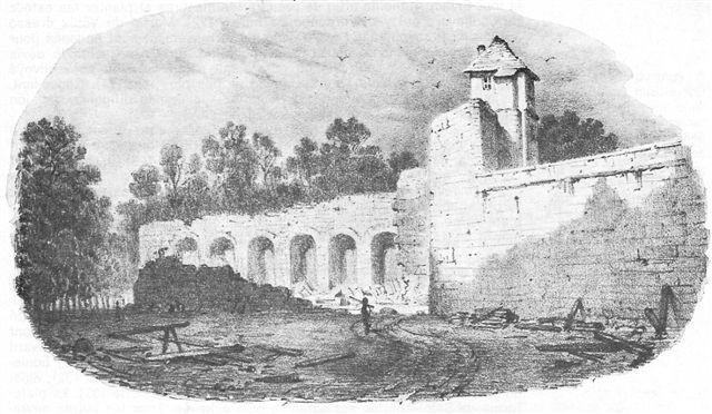 Fortifications de Troyes par Nicolas De Hault: boulevard de Guise