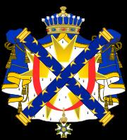 Armes du Comte Valée Pair de France