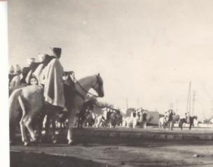 J.S. 1er Spahis Marocains, revue du 11 novembre à Rabat