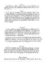 Loi du 22 Décembre 1789
