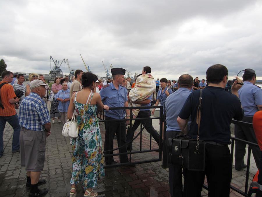 Речной порт. Казань. 10 июля 2011 г