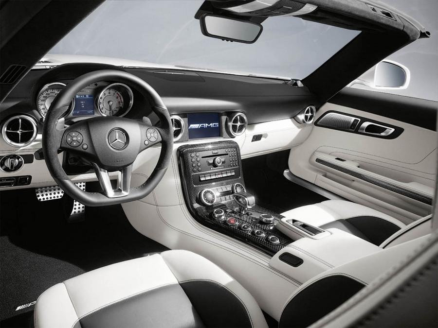 2012 Mercedes-Benz SLS AMG Roadster, Mercedes-Benz, автомобиль, новый автомобиль, роскошь, суперкар