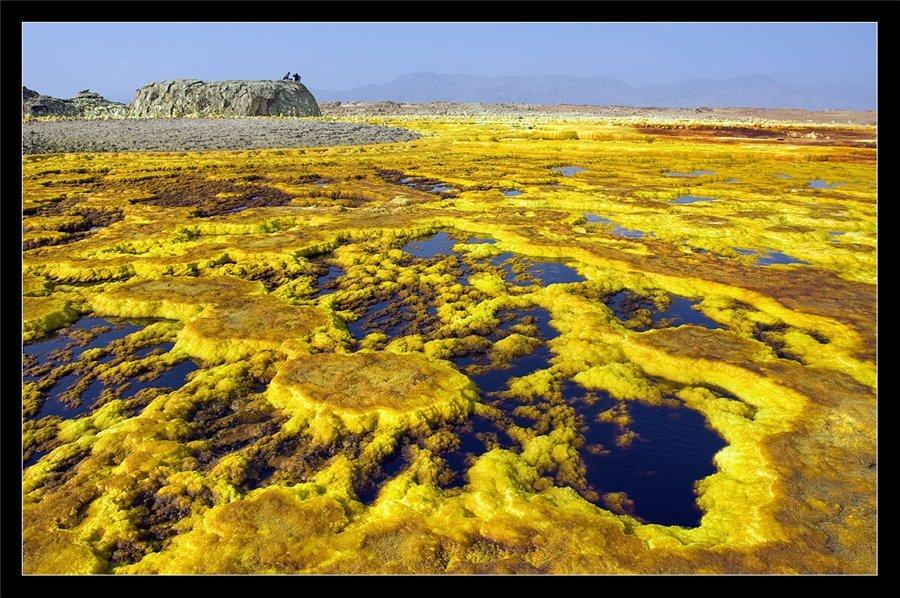 Территория Вулкана Далол