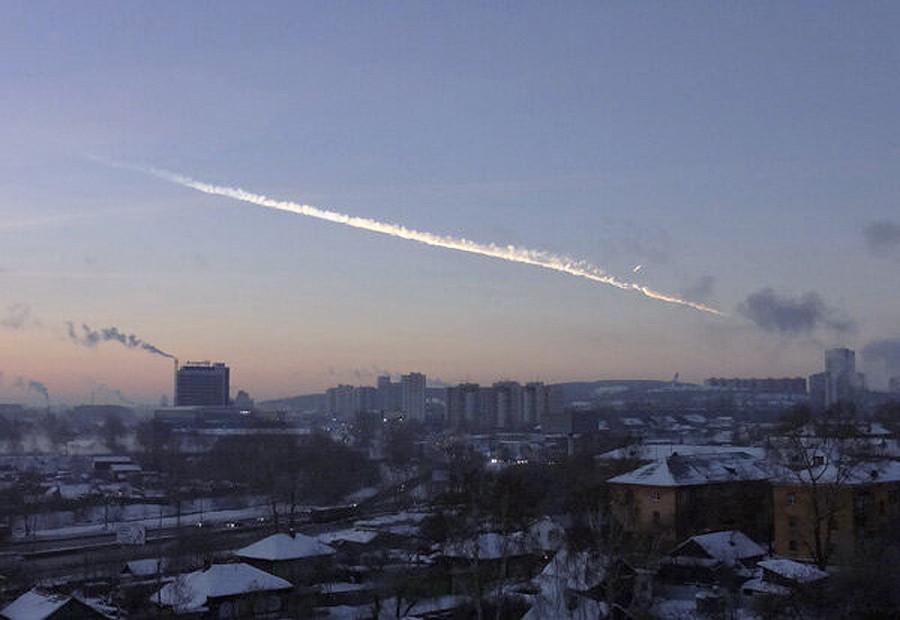 Метеорит и взрыв в Челябинске