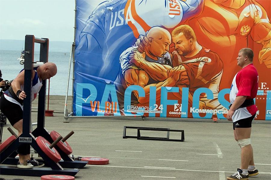Турнир по силовому экстриму Pacific Strong во Владивостоке