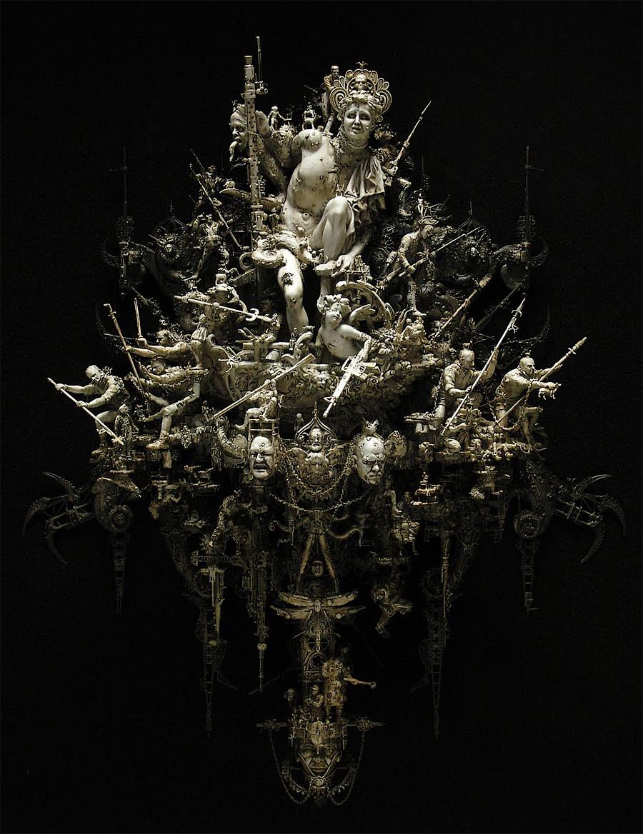 скульптуры Крис Кукси (Kris Kuksi)