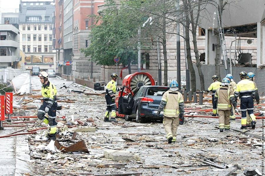 теракт в Норвегии