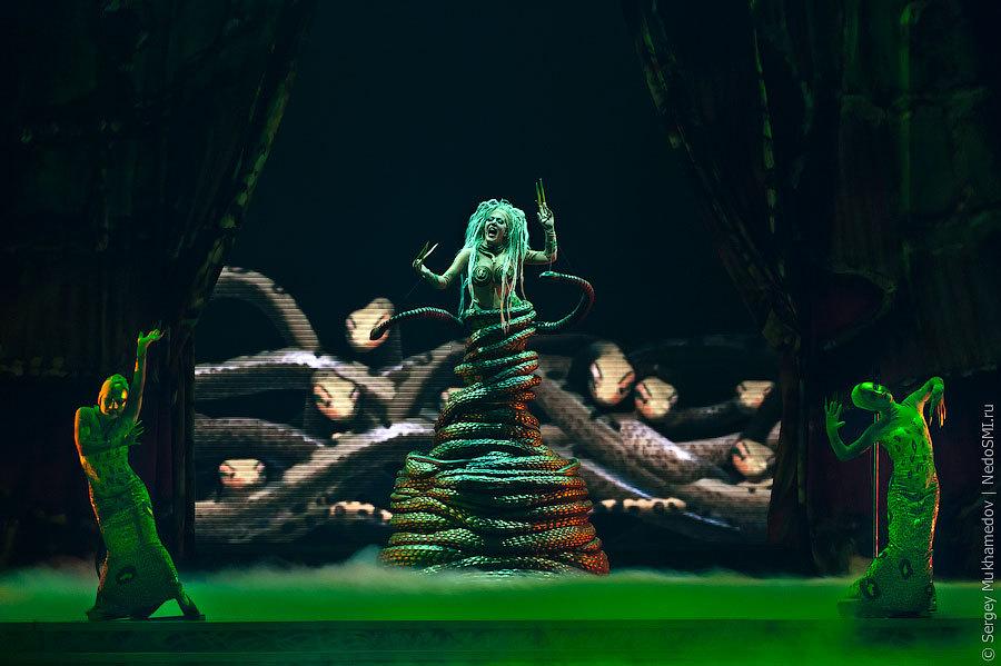 цирк, а Cirque du Soleil