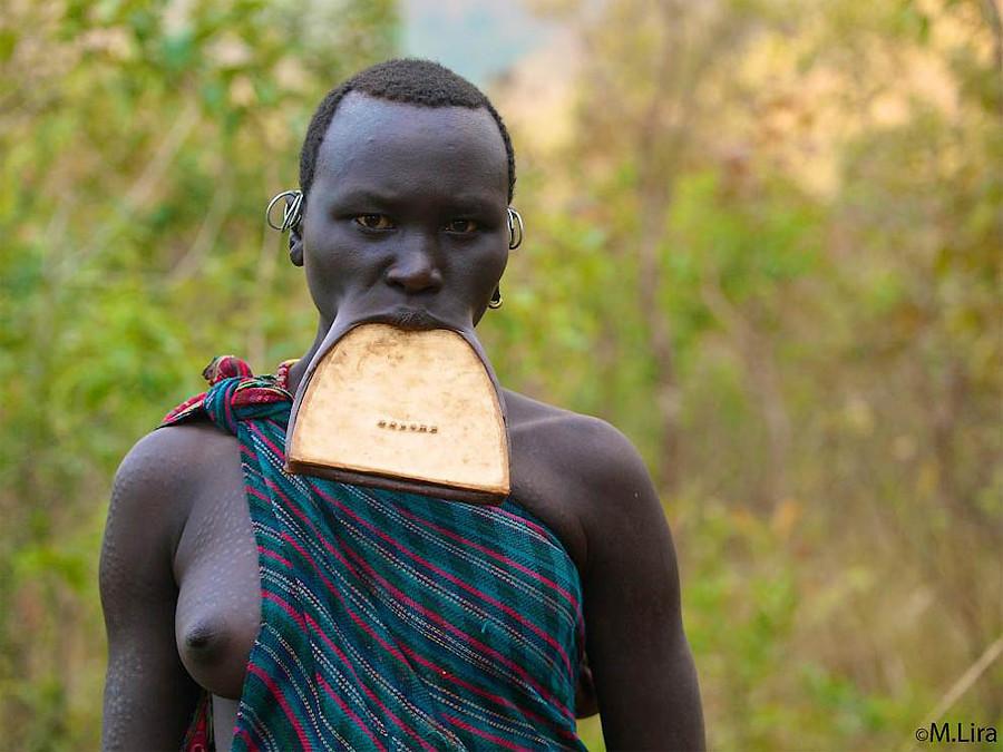 Племена долины Омо африка