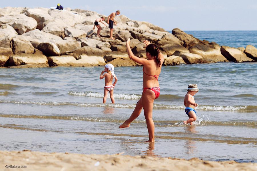 Италия море отдых