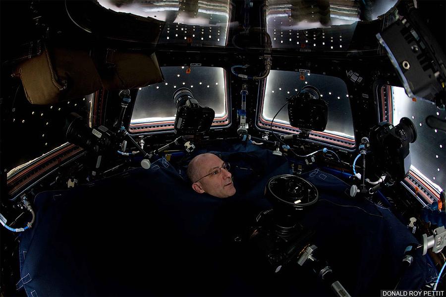 Дональд Петтит - космический фотограф