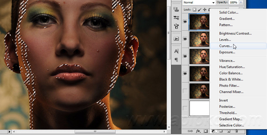 Ретушь лица в Photoshop CS5