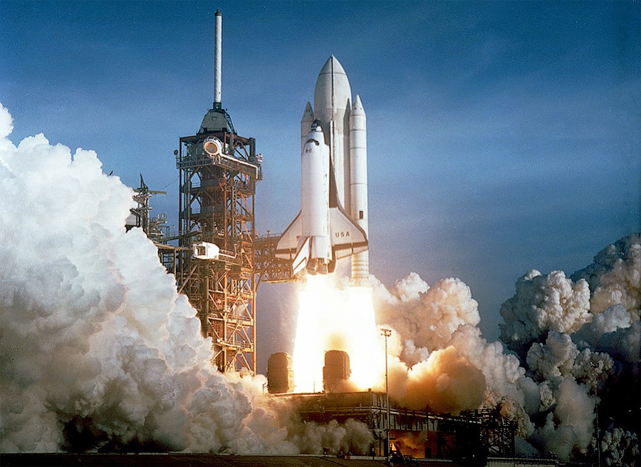 NASA, запуск, космос, Колумбия, миссия, шаттл