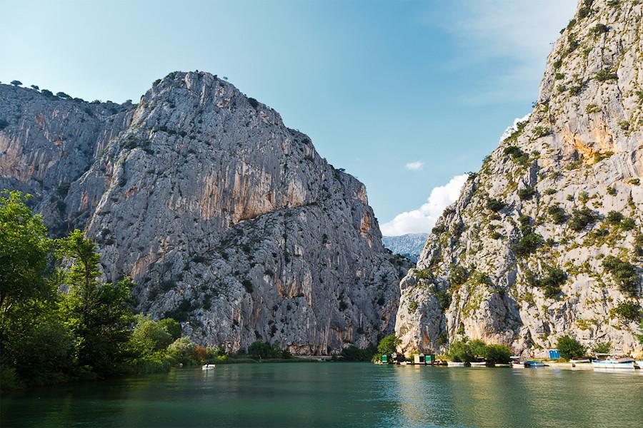 Хорватия, Вверх по Цетине