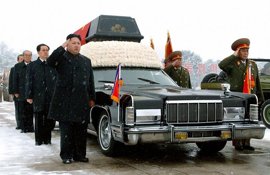 Северная Корея - похороны Ким Чен Ира