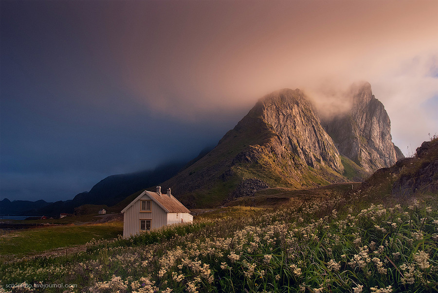 Норвегия,  Лофотенам Ваерой