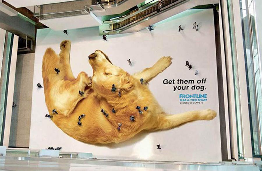 Креативные рекламные стикеры