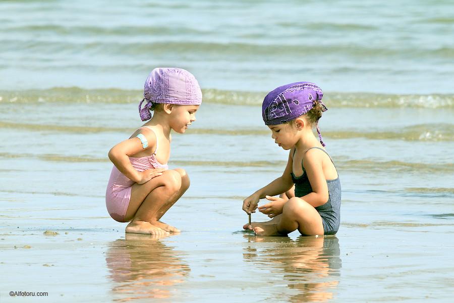 Италия море отдых дети