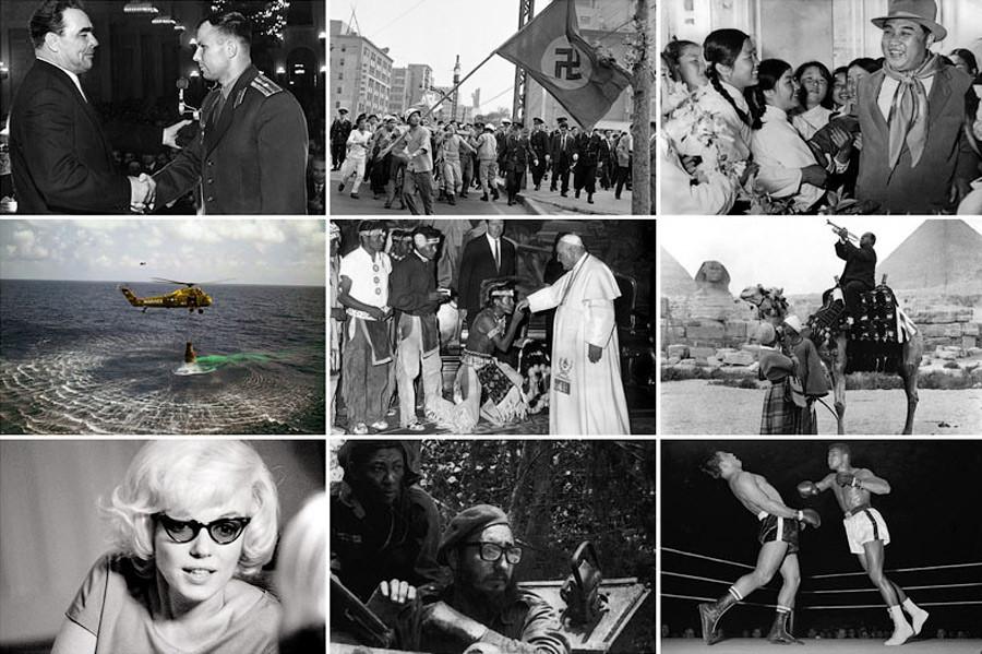 мир в 1961