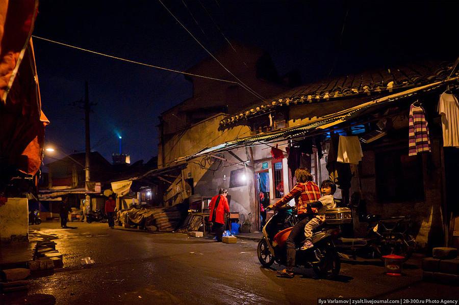 Трущобы Шанхая