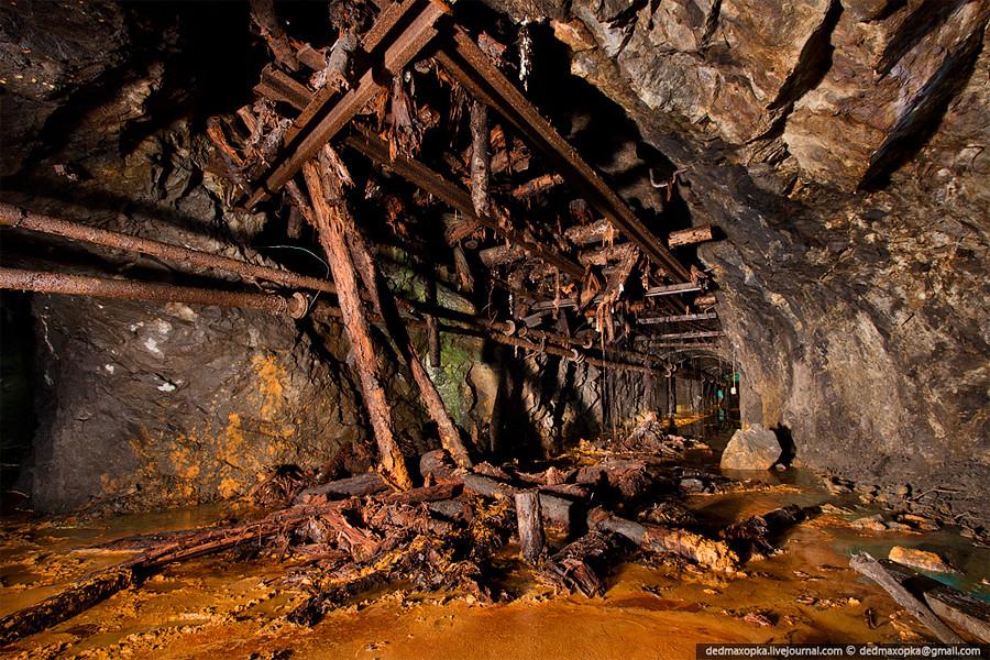 железнорудная шахта