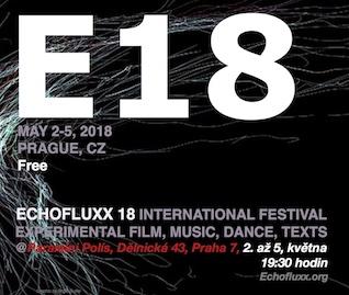 Plakat Echofluxx Filmfestival Mai 2018