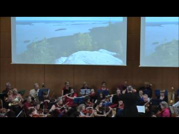 """Aufführung sinfonische Dichtung """"Hannibal in den Alpen"""" mit dem SSO Chemnitz"""