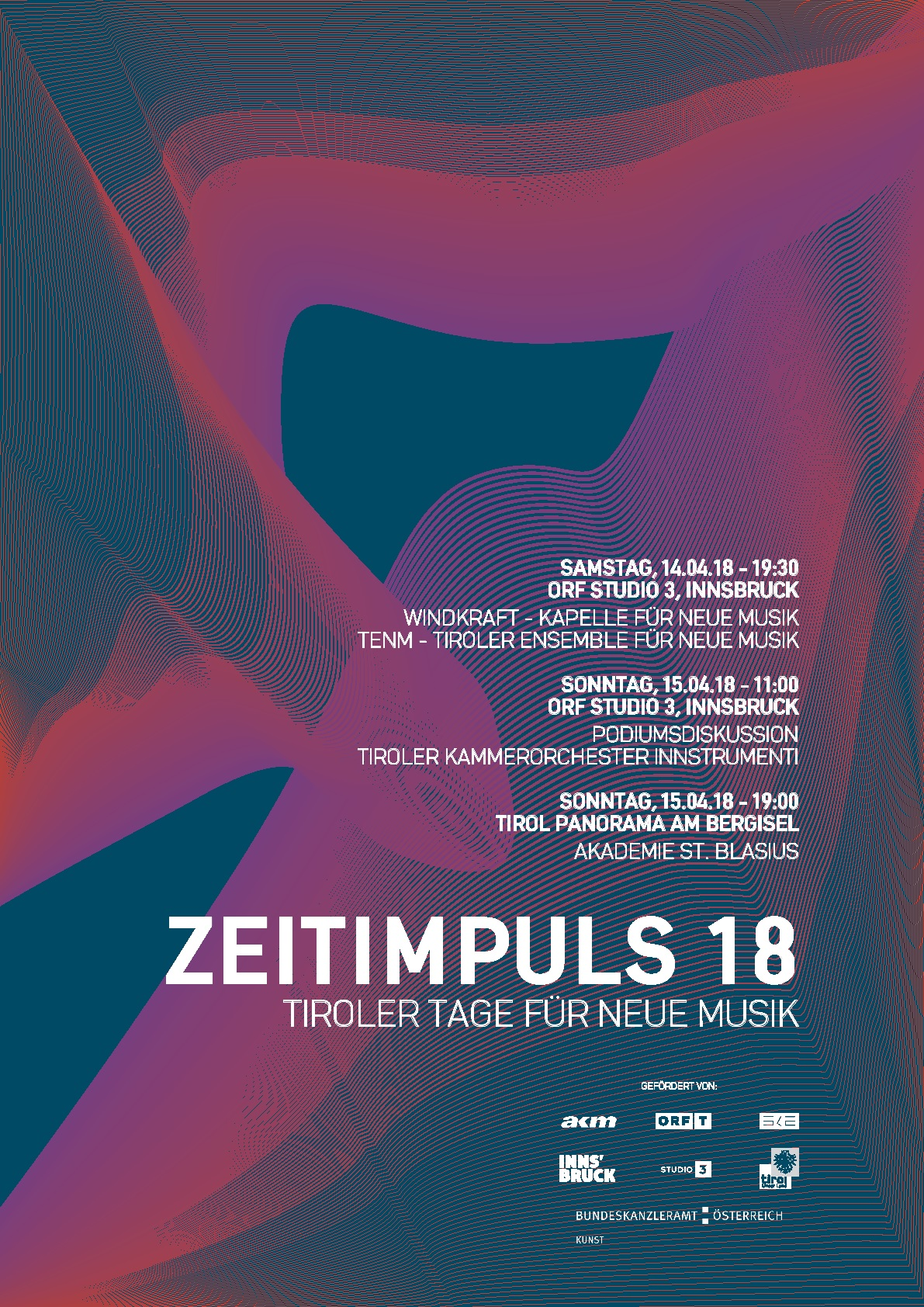 Plakat Zeitimpuls 2018