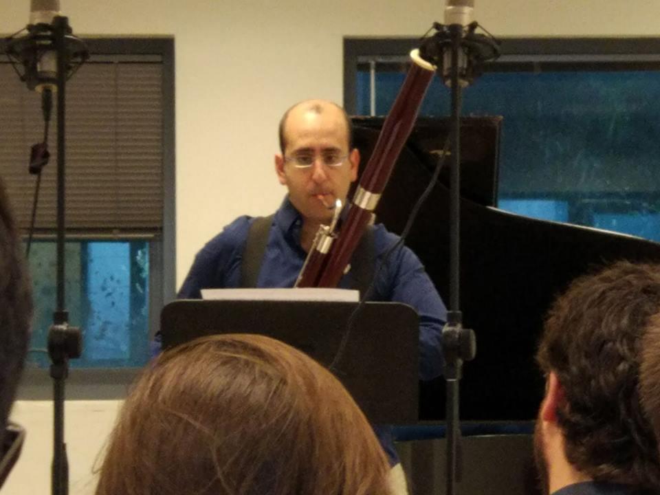 Aufführung mit Nadav Cohen vomMeitar Ensemble, Tel Aviv, 2018