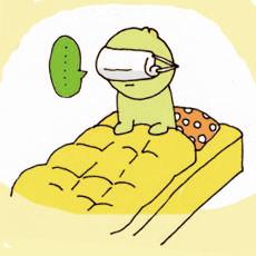 Π月■日 乾燥対策に夜マスク。朝起きるとなぜかアイマスクになっている。