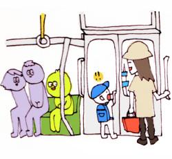 Π月∇日 電車内で小さい男の子が「なんでスカイツリーも動いてるの!?」って驚いてて、ほほ笑ましかった