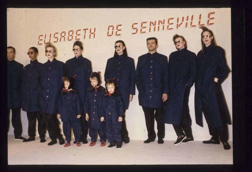 Hiver 1984/85. Copyright. Archives Elisabeth de Senneville