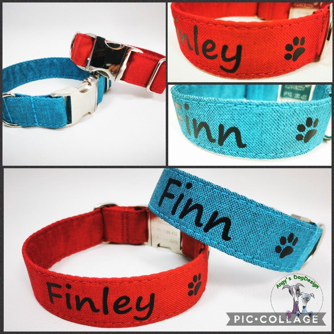 Neue Halsbänder für Finley & Finn