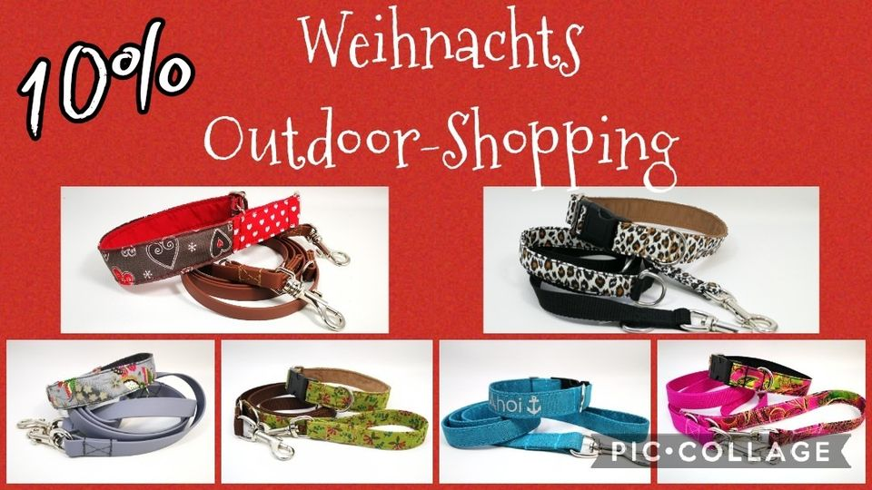Weihnachts-Outdoor-Shopping
