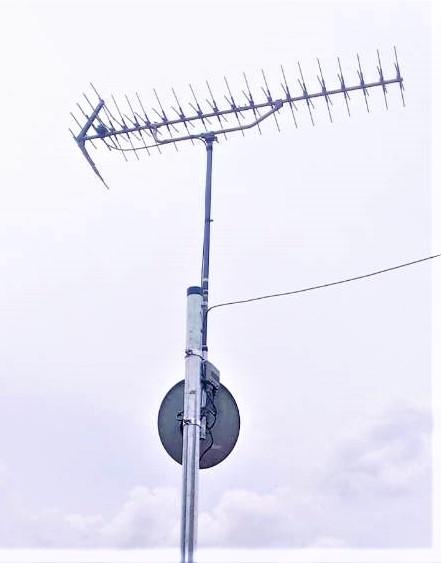 テレビアンテナ 移設工事