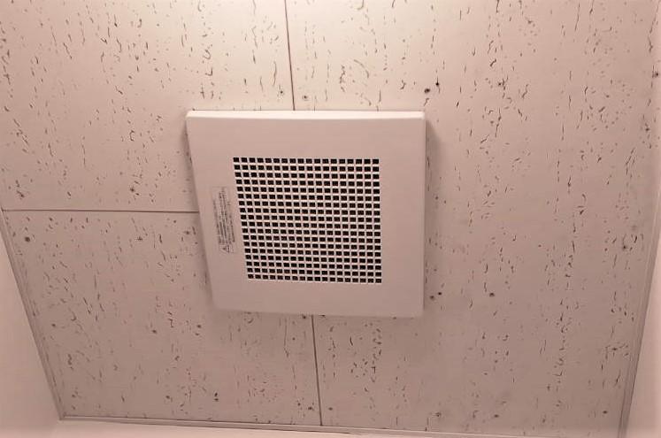 トイレ換気扇の取り替え工事